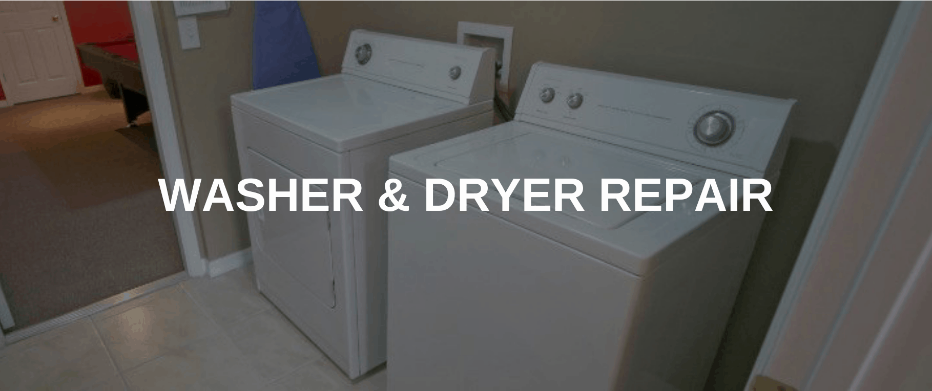 washing machine repair irvine